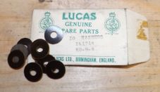 Lucas. Washers x 10. Genuine spares.